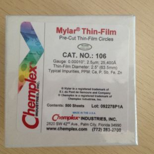 chemplex迈拉膜、XRF光谱仪薄膜106#