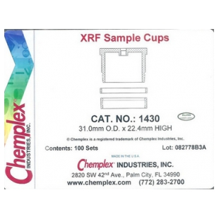 X熒光光譜儀樣品杯1430#