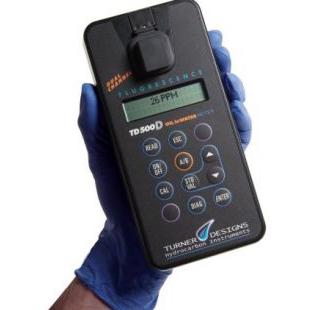 便携式紫外荧光水中油分析仪TD-500D