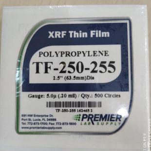 光譜儀用透明薄膜、XRF透明薄膜TF-250-255