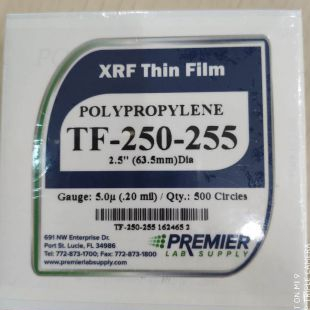 5.0μ聚丙烯膜(500片)样品膜TF-250-255