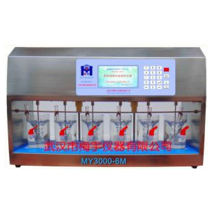 彩屏混凝试验搅拌仪/器MY3000-6M梅宇实验搅拌器/搅拌机