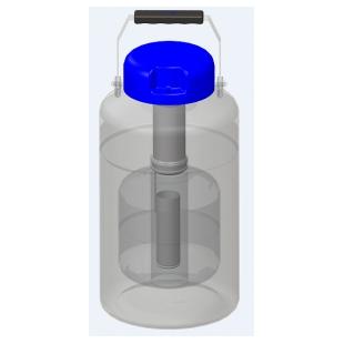 山东博科航空运输系列液氮罐,