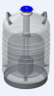 山东博科液氮罐 静态储存系列液氮罐