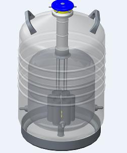 山东博科运输专用液氮罐