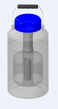 山东博科液氮罐 便携式贮存系列液氮罐