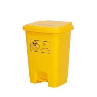 山东博科 脚踏式医疗废弃物垃圾桶   塑料桶