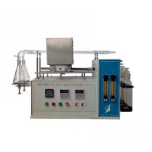 深色石油硫含量测定法(管式炉法)