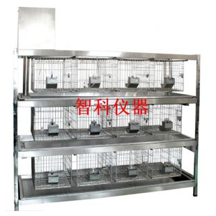 实验室冲洗式兔笼架  12位兔笼智科仪器