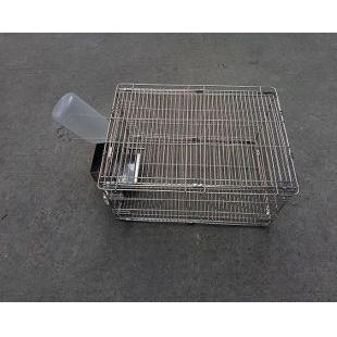 不锈钢大鼠笼 实验级饲养设备