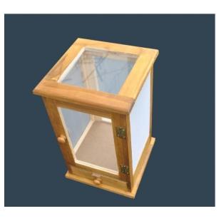 木质养虫笼 纱网养虫笼实木材质
