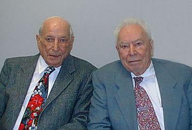 Fred Breck和Dick Jarrell,1999.jpg