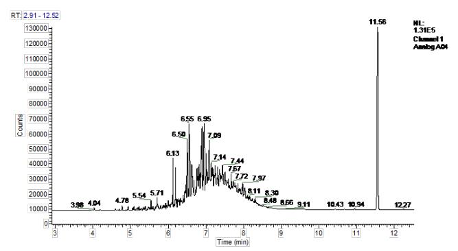 图5芳烃类FID端谱图.png