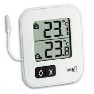 TFA数字室内室外温度计AZ01