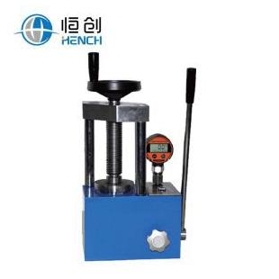 天津恒创立达12吨数显手动压片机生产厂家价格 YP-12S