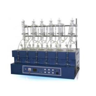 江西一体化蒸馏仪JTZL-6现货热销