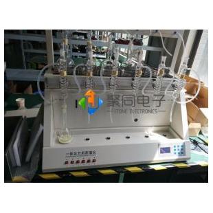 四川智能一体化蒸馏仪JTZL-8样品数8个