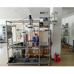 刮膜式分子蒸馏AYAN-F220蒸发浓缩设备