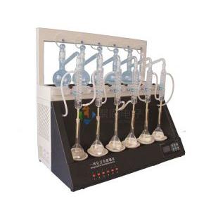 ?氨氮蒸馏器JTZL-6Y多功能蒸馏仪