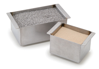 Talboys不锈钢砂浴式加热盒,适用于3模块加热器