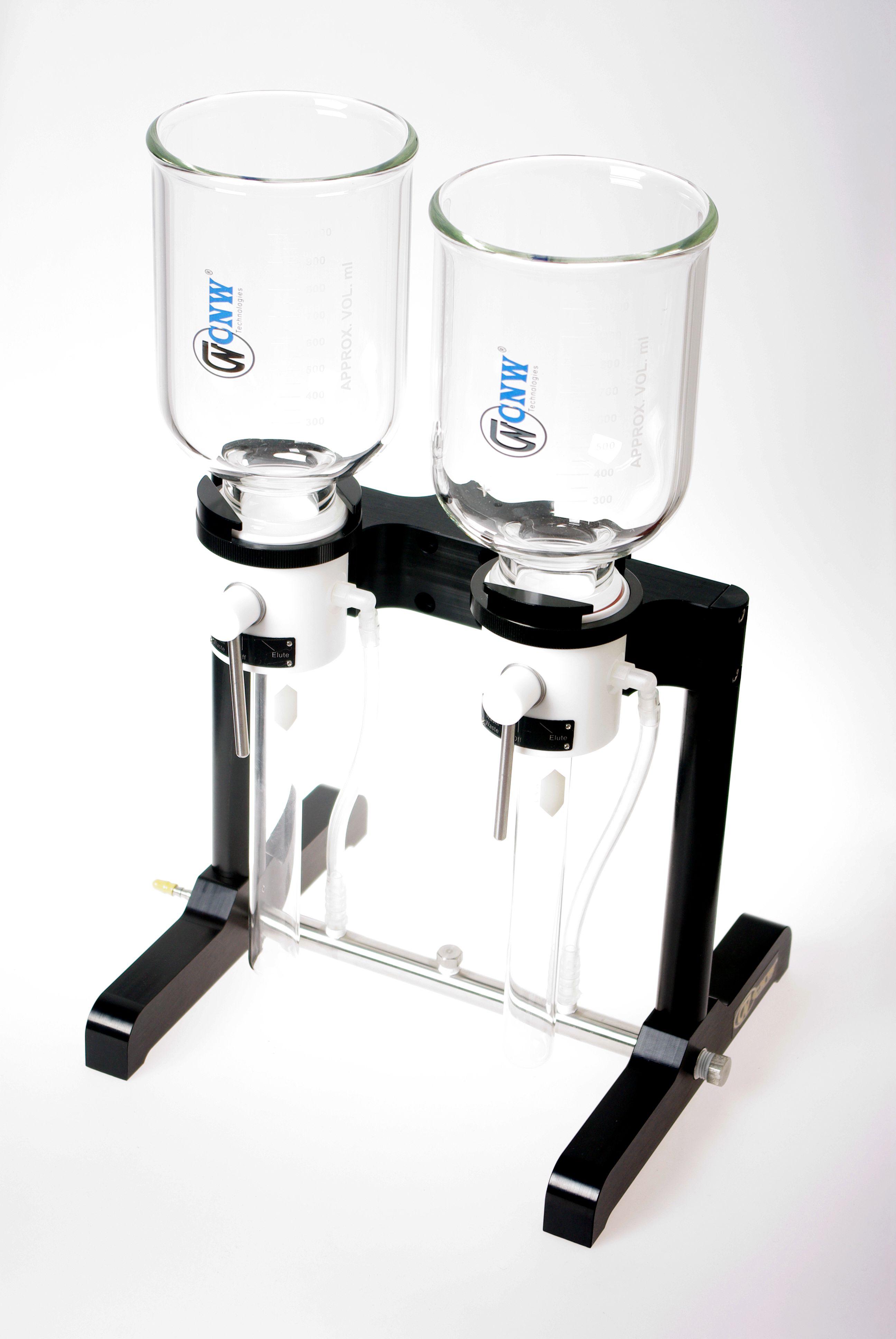 两位膜片固相萃取圆盘(全套,含2个滤杯、收集管和PTFE支撑盘)