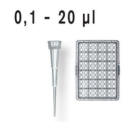 散装移液器吸头,PP材质,0.1-20 μl,无色,未灭菌,符合IVD标准