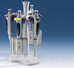 台式移液器架(圆形),适用于Transferpette  S 移液器及S-8/12多道移液器