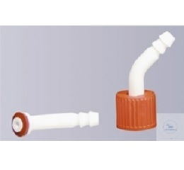 HOSE CONNECTION, BENT, WITH  GASKET, MADE OF POLYPROPYLENE