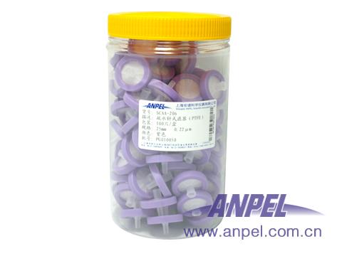 疏水性PTFE针式滤器
