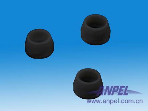填充柱密封垫,60% Vespel / 40%石墨, 1/8英寸*1/8英寸