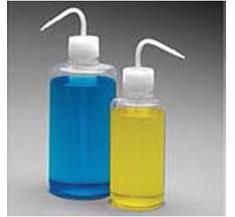 洗瓶,Teflon*FEP瓶体;Tefzel*ETFE螺旋盖/杆和吸管,500mL容量