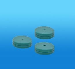 绿色低流失进样隔垫,11mm,350℃,无导向孔