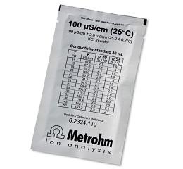 电导率标准液 100 uS/cm 5x30mL