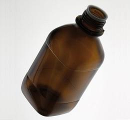 棕色瓶无盖-1L