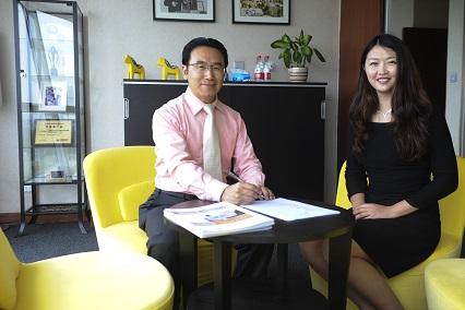 帕纳科中国区总经理顾然先生和复纳科学仪器(上海)有限公司总经理樊丽丽女士开启新的合作领域