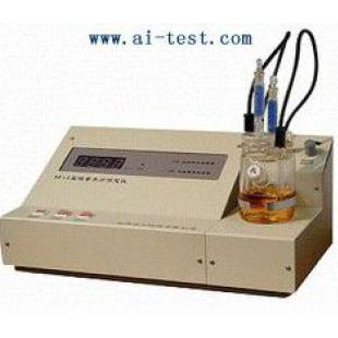 电量法水分仪