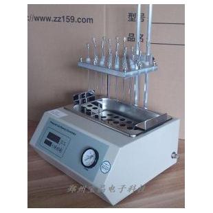 郑州宝晶YGC-24S水浴氮吹仪,24孔氮吹仪,样品浓缩仪