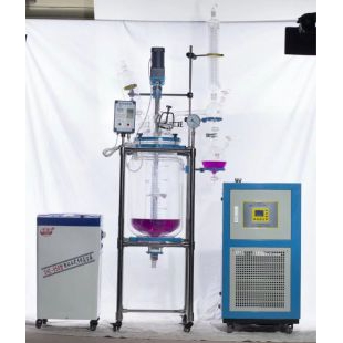 双层玻璃反应釜YSF-80L予华仪器生产,远销国内外