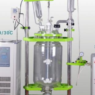 予华仪器双层玻璃反应釜/反应器YHGSF(EX)-20L