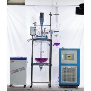 双层玻璃反应釜YSF可定制厂家直销采用高硼硅玻璃