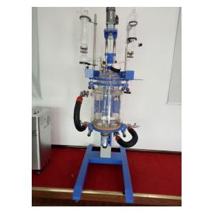 予华仪器出品新型旋转型双层玻璃反应釜图片