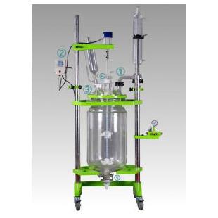 双层|三层玻璃反应釜 高效实用行内领先 订制小型各种规格反应釜