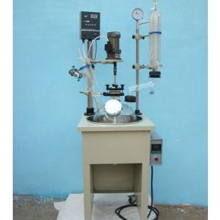 单层玻璃反应釜予华仪器生产,远销国内外