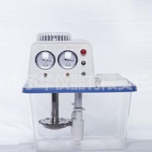 予华仪器SHZ-D(III)透明水箱不锈钢双表双抽循环水真空泵
