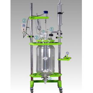 玻璃反应釜 防腐耐磨可特制