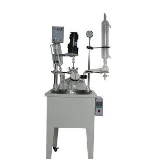 单层玻璃反应釜的工作原理及参数