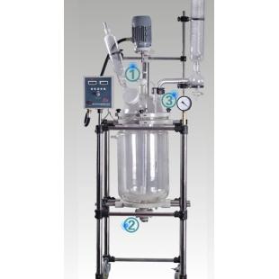 双层玻璃反应釜防腐耐磨性能稳定认准巩义予华商标
