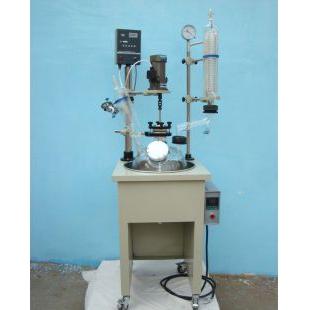 30L单层玻璃反应釜 高效稳定多功能反应器