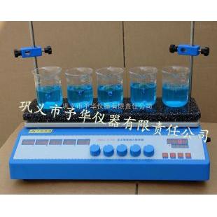 智能恒温多点磁力搅拌器ZNCL-D型结构合理,经久耐用