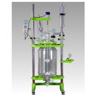 双层玻璃反应釜耐磨防腐安全可靠
